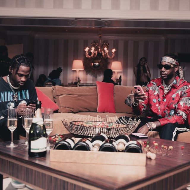 TravisScott and 2Chainz Posted by shortydowop