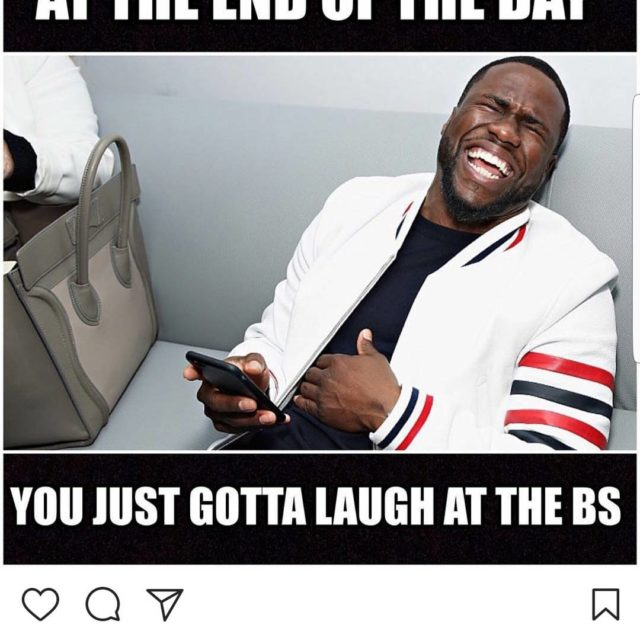 KevinHart says this is a funny situation he has Tohellip
