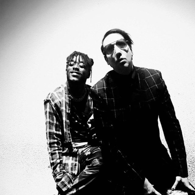 LilUziVert and MarilynManson Posted by shortydowop