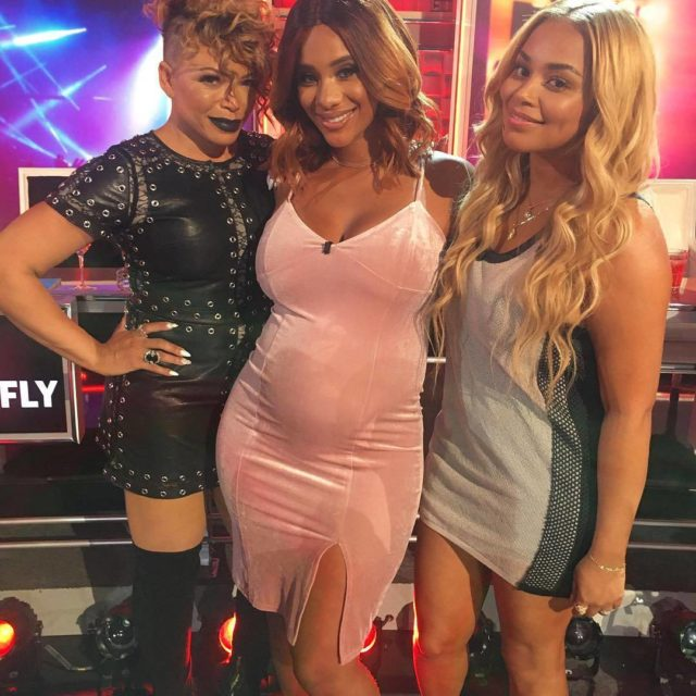 Heyyy ladies TishaCampbellMartin x CynSantana and LaurenLondon Posted by shortydowop08